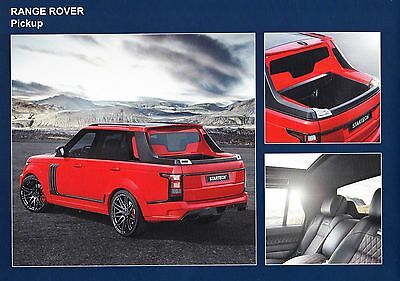 Startech Range Rover ( Pick Up ! ) 16 page  catalog / brochure ** VERY RARE **