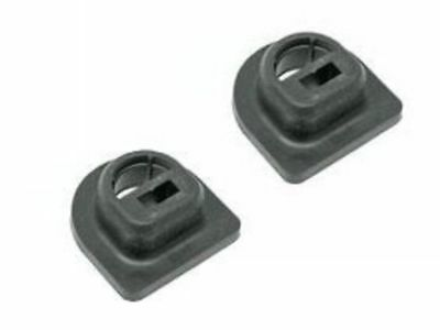 Set mounting New Genuine Mercedes w210 Radiator Support Mount Rubber Sleeve x2