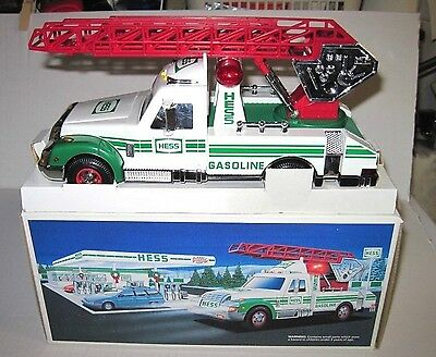 1994 Hess Rescue Truck Never Played with. Mint Condition in Box