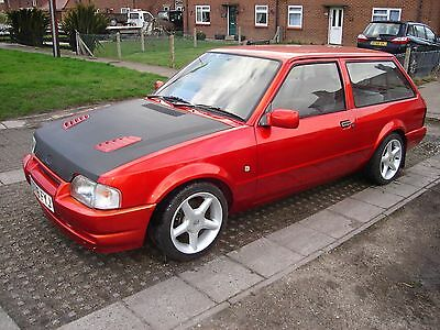 1987 Ford Escort Rs Turbo Estate, Candy/flip Paint, Mot'd,modified /custom