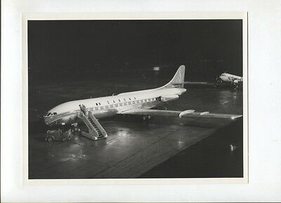 N°5195  /  photo d'epoque SABENA Caravelle VI 10 fevrier 1961