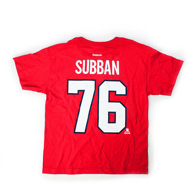 P.K. Subban Montreal Canadiens Player Junior T-shirt