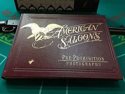 "History Of AMERICAN SALOONS Pictorial Book By Roger E. Kislingbury ""Watch Video"""