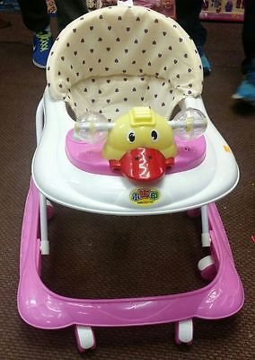 Baby Walker Activity Adjustable Toy Musical Sounds First Step Activity PLAY TRAY