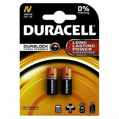 Duracell Security MN9100 LR1 N Alkaline Battery Cell  Pack of 2 TOP QUALITY