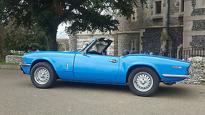 Triumph Spitfire. Fully restored. Lovely condition. Hard and soft top.