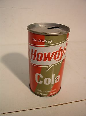 Howdy Cola Soda Can Seven Up