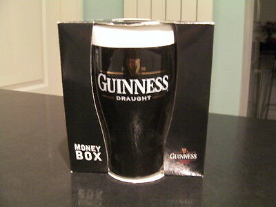 Guinness Ceramic Pint Shape Money Box