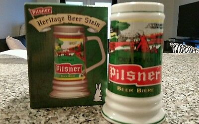 Old Style Pilsner Stein Molson Breweries