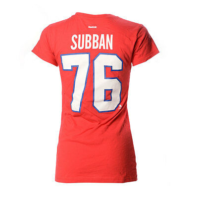 P.K. Subban Montreal Canadiens Women's Player T-shirt