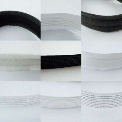 20 TYPE Boning 7mm - 18mm Plastic Metal Satin Cotton Felt Covered Corset 1 2 4m+