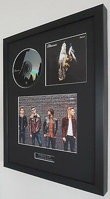 The Courteeners-Original Falcon CD-Certificate-Metal Plaque-Luxury Framed