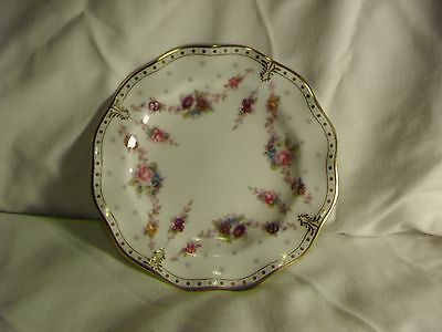 """Royal Crown Derby Royal Antoinette 6"""" Side Plate 2Nd Quality"""