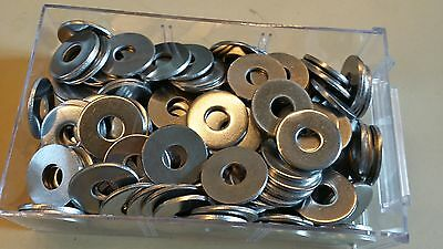 Ring flat stainless steel A2 M8 thick large (8X24X2) Set of 6 en 8mm