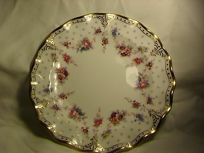 """ROYAL CROWN DERBY ROYAL ANTOINETTE 8"""" SIDE PLATE 1st QUALITY"""