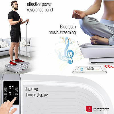 Vibration massage including training plan VP300 Trainer Homefitness Oscillation