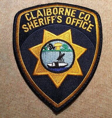 TN Claiborne County Tennessee Sheriff Patch