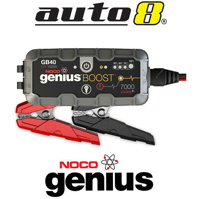 NOCO GB40 GENIUS BOOST 12V 4WD Car Ute Jump Starter up to 3.0L Diesel Engine
