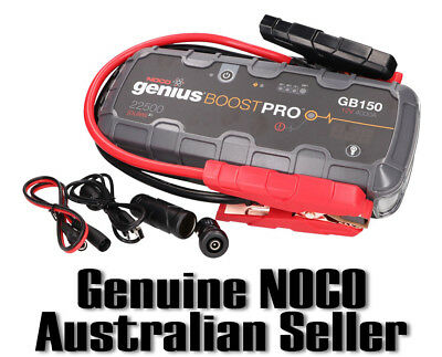 NOCO GB150 GENIUS BOOST 12V Car Ute 4WD Jump Starter Lithium-ion 4000Amp