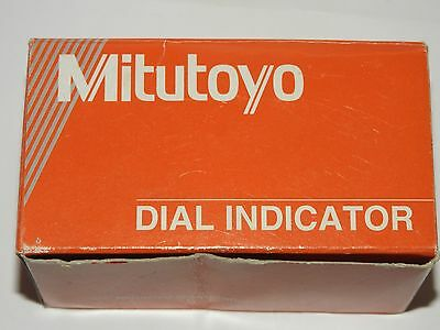NEW & BOXED MITUTOYO 1960 Back Plunger Dial Indicator 1mm/1.27mm Range/Per Rev