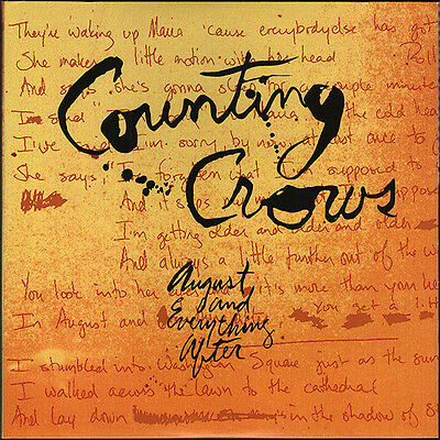 Counting Crows August und Everything After (2017 NEUAUFLAGE) VINYL LP (17THMAR)