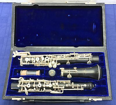 Fox Model 400 Professional Full Conservatory Wood Oboe w/ Case Ready to Play!