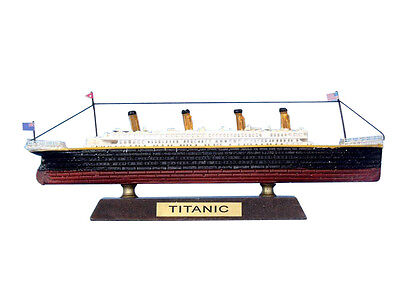 "RMS Titanic Limited 7"" - Wooden Titanic Model Toy For Children - Titanic Replica"