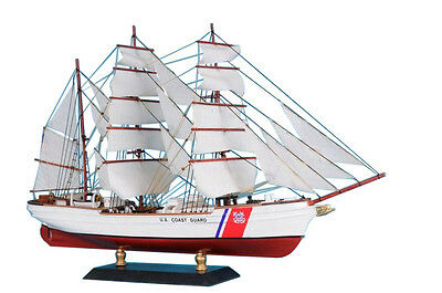 "USCG Eagle Limited 15"" - Wooden Coast Guard Model Ship - USCG Model Boat"