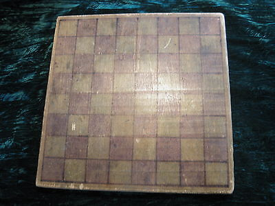"""Vintage 1960's Chess Board Large 15"""" x 15"""" x 7/8"""" Made by Chicago Kids"""
