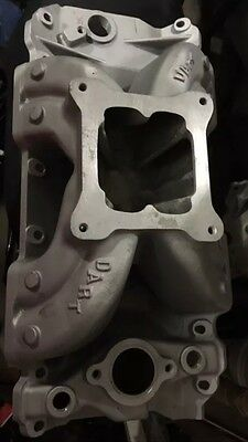 BIg Block Chev Alloy Dart Inlet Manifold 4150 Carby Size