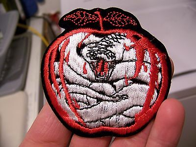 NOS NEW Vintage 80s WHITESNAKE Band Denim Jacket Back Patch COME AN GET IT Rare