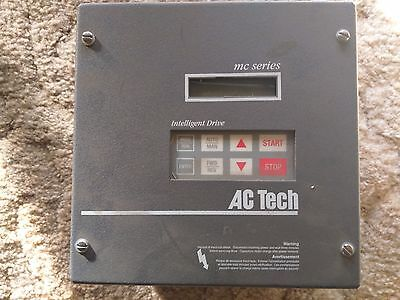 AC Tech M1220C 2 HP MC Series Variable Frequency Drive  USED