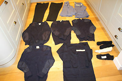 Royal British Navy Issue Uniform Jumpers Socks Trousers Blue Shirts Ship Deck