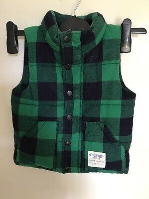 Country Road boys vest. Size 4