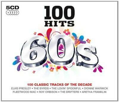 Various Artists - 100 Hits: 60s - Various Artists CD RIVG The Cheap Fast Free