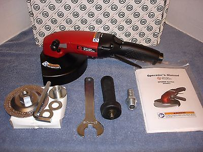 "Chicago Pneumatic CP3850-77AB7V Heavy Duty 7"" Industrial Air Angle Grinder"