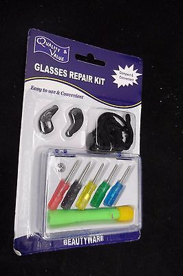 Glasses Repair Kit - Compact & Convenient - Free Postage - Quality Made