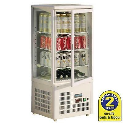 Cold Food Display, Refrigerated Cabinet Counter Top, Polar, Cakes, Sandwich, 68L