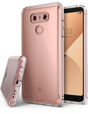 LG G6 / G6 Plus Case, Ringke [Fusion] Clear PC Back TPU Bumper Drop Protection