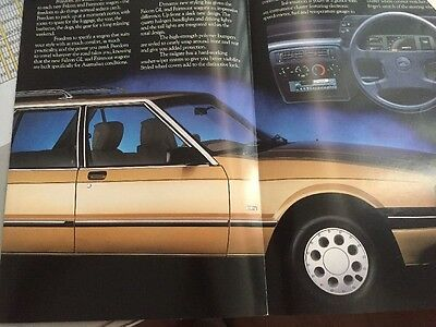ford falcon brochures