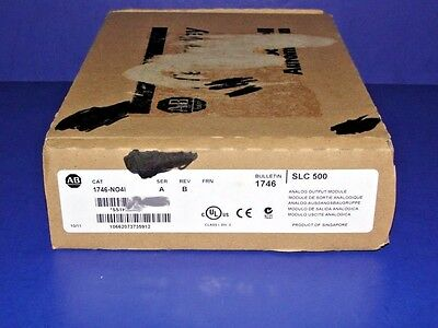 FACTORY SEALED Allen Bradley 1746-NO4I /A Analog Output Module