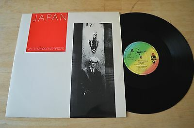 "Japan ‎– All Tomorrows Parties 12"" Vinyl Single Record HANSA1218 Pic Slv 1983 UK"