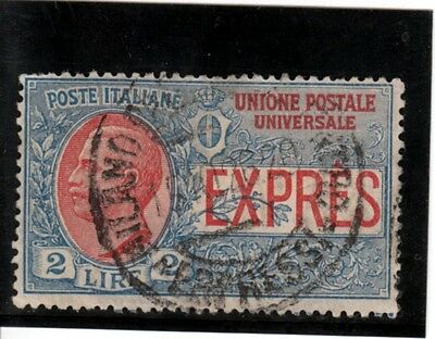Italy - 1925 Express Lire 2 used