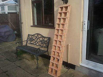 5 x 6ft x 1ft  OF  TREATED GARDEN TRELLIS PANELS COLLECT FROM MALDON IN ESSEX