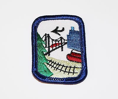 Girl Scout Interest Project Patch Badge IPP - Travel