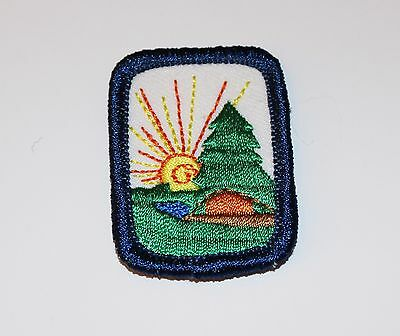 Girl Scout Interest Project Patch Badge IPP - Camping