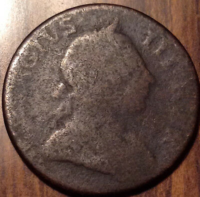 1771 Uk Gb Great Britain Half Penny