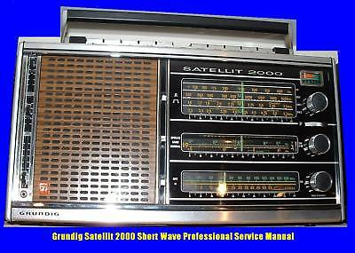 Grundig Satellit 2000 Shortwave Service Manual