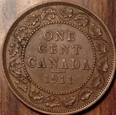1911 Canada Large Cent A Superb Example !