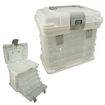 Storage Carry Case With 4 Adjustable Compartment Storage Boxes Arts Crafts Box